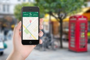 GPS on mobile