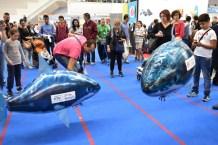 MakerFaire Rome -- 2 smart sharks