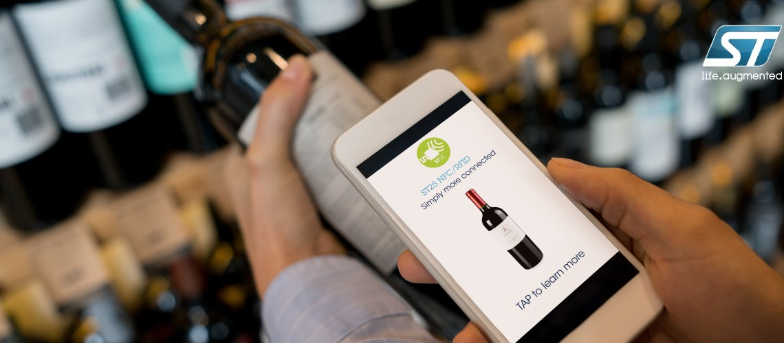A Wine Company's Journey into ST's Type-5 NFC Tag, the Flood of Innovation