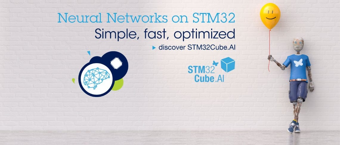 STM32Cube.AI: Convert Neural Networks into Optimized Code for STM32