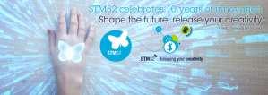 STM32 10 year anniversary