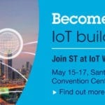 Discover all the Building Blocks for the IoT with ST at IoT World 2018