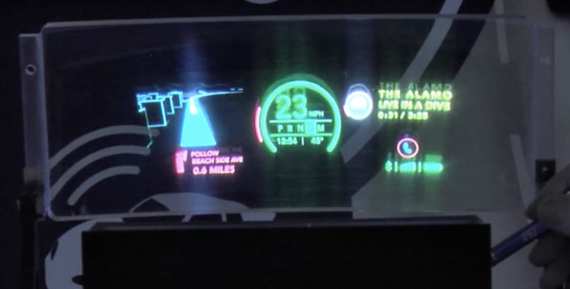 Future Looks Bright for Heads-up Displays