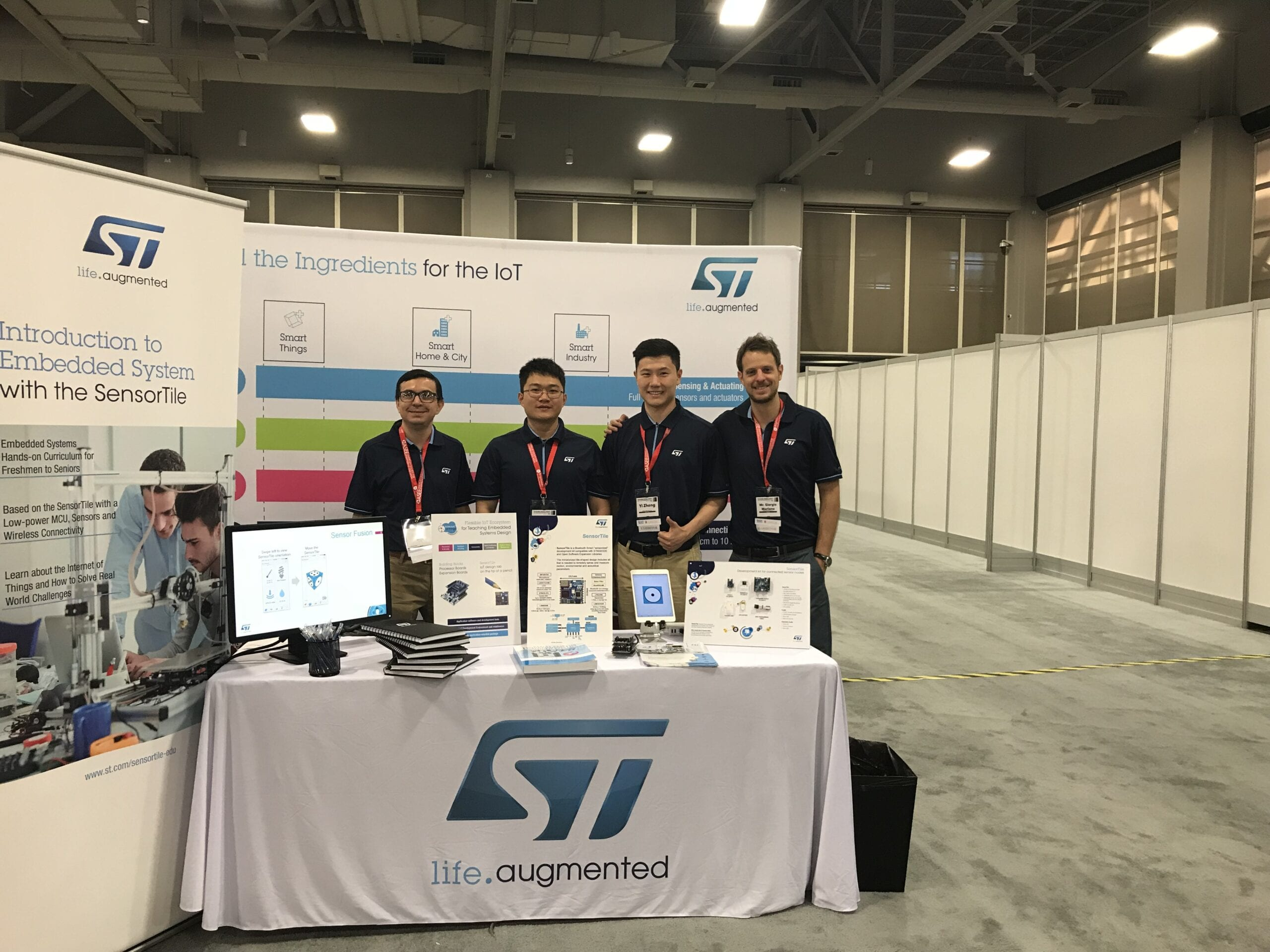 STDevCon2018: SensorTile Capstone Projects Bring Basketball to