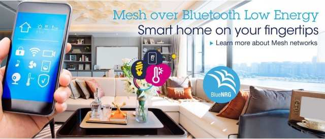 Bluetooth mesh in a smart home