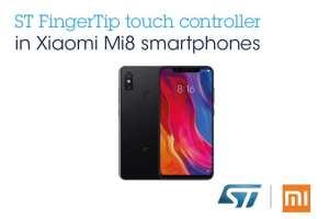 FingerTip in the Xiaomi Mi8