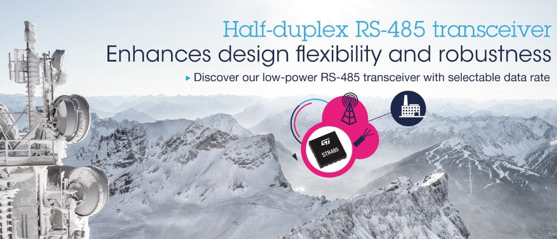 Small and Powerful RS485 Transceiver, It's All About Flexibility and Robustness