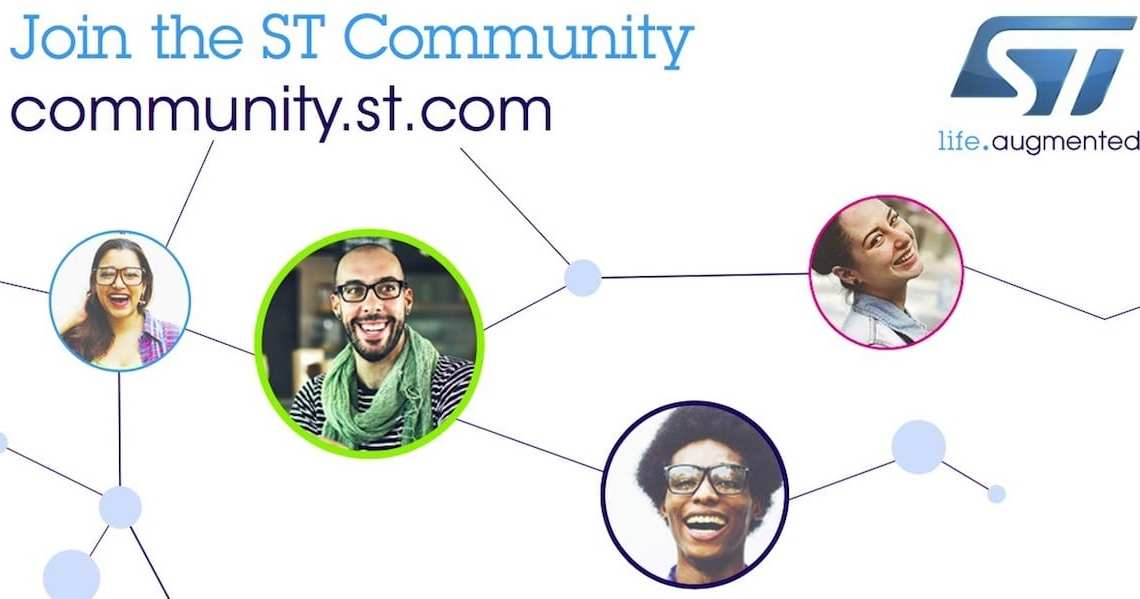 ST Community: The Place to Get Answers, Share Ideas, and Know What's Coming