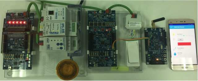 The KNX with Bluetooth LE demo