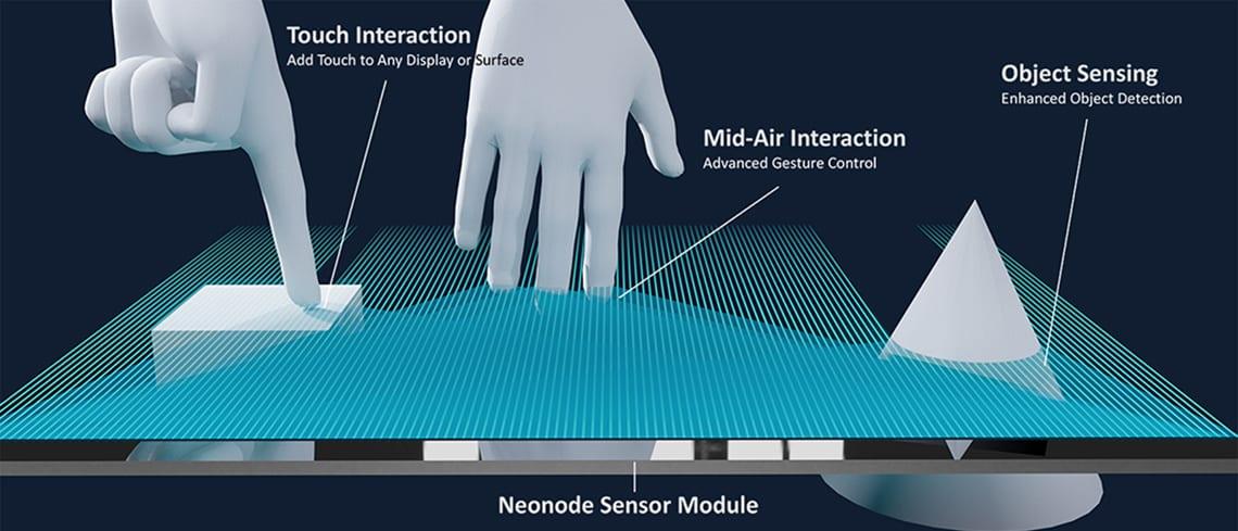 Neonode Sensor Module, Please Do Not Keep Your Hands to Yourself!