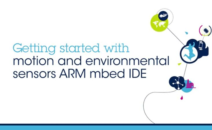 Getting Started with Motion and Environmental sensors ARM mbed IDE