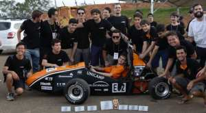 electric car team from University of Campinas