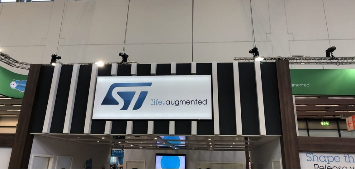 EW 2018: Visitors to ST Booth Find Latest Technology — and Free Development Boards