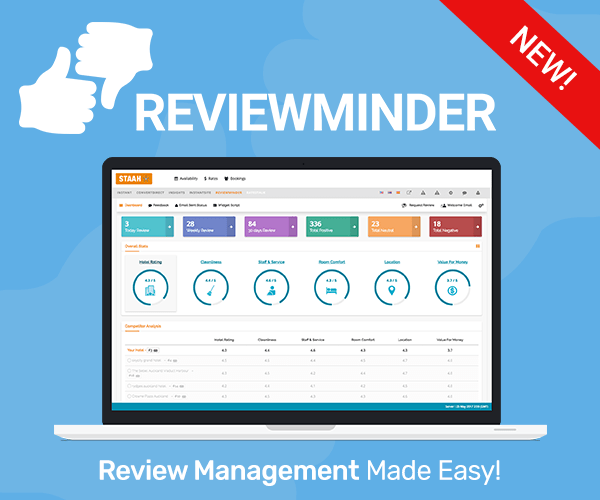 Hotel Review Management - STAAH