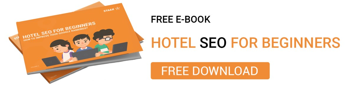 Hotel SEO For Beginners - Free E-Book From STAAH