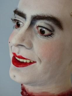 Das Make-Up sitzt...