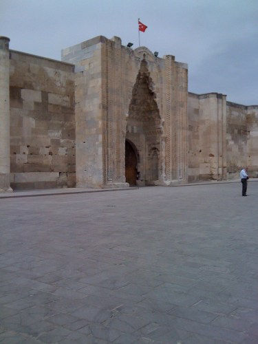 caravanserai in Konya, Turkey