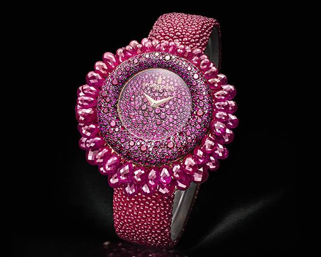 De Grisogono Ruby Grappoli women's watch