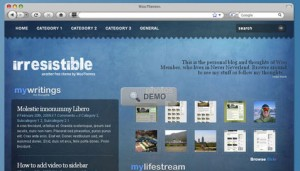 Irresistible Free WordPress Theme from WooThemes