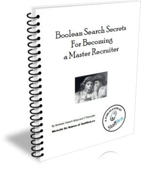 Introducing the Stafflink Boolean Search Secrets eBook