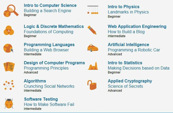 3 Links for Free Online Technology Courses from Top Universities