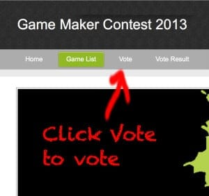 GameMaker Contest 2013