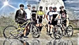 Hiwwelbiker in den Vogesen auf Tour