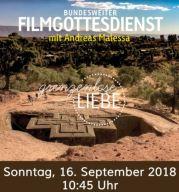 """Gottesdienst im Balikino """"grenzenlos geliebt"""" gemeinsam mit der Gemeinde am Schillerplatz am 16. September um 10.45 Uhr"""