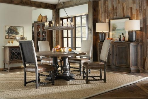 Hill Country 5-Piece Round Dining Room set