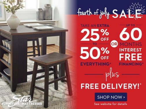 The Best Furniture Deals at Our Fourth of July Furniture Sale