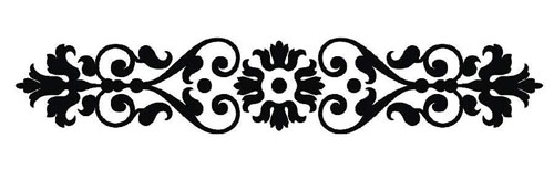 ornament, ornaments, clipart, clip art, free, damask, baroque, decorative