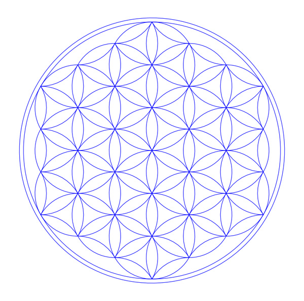 flower of life, flower of life vector, free vector, free vector download, sacred geometry, sacred geometry images