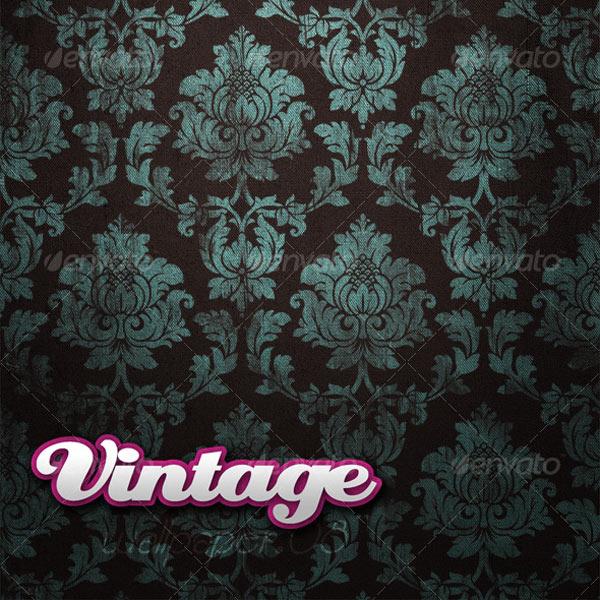 grunge damask pattern