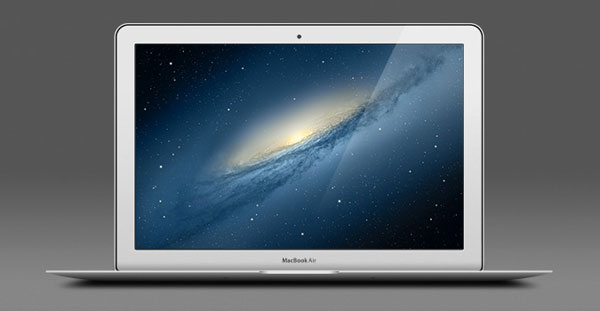 free apple macbook air psd, free macbook psd, free apple psd,