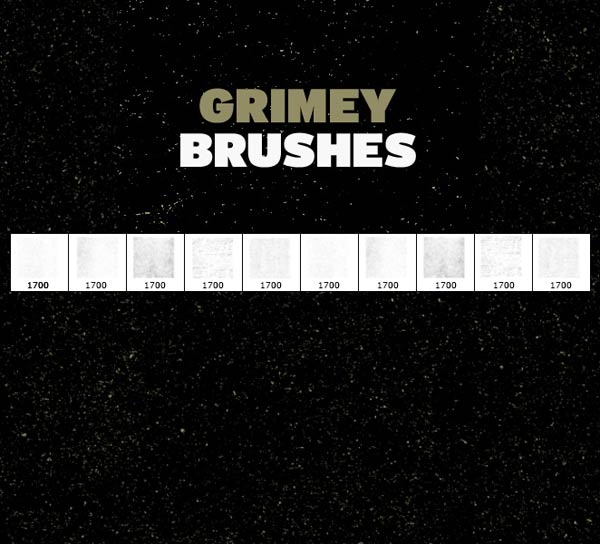 free grunge brushes, free brushes, free photoshop brushes, free gimp brushes,