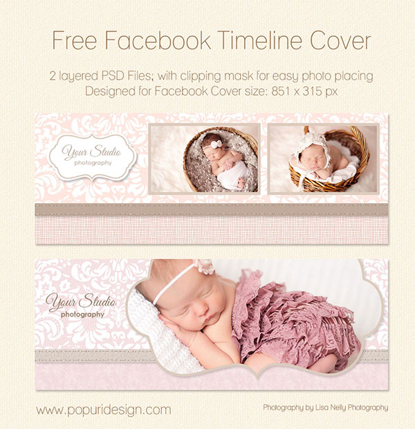 free facebook timeline cover baby