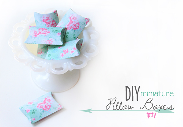 free pillow box printable, free printables, box printable