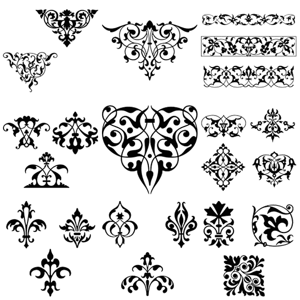 Gorgeous Free Vintage Frames Borders & Ornaments II | Starsunflower ...