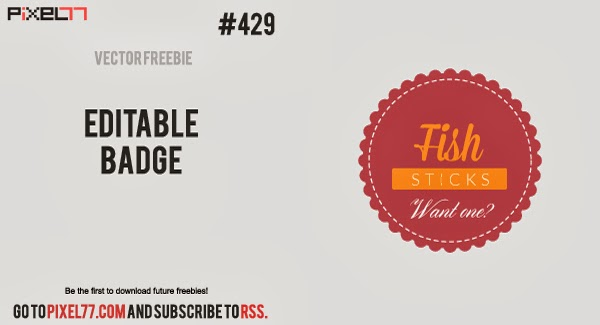 scalloped frame, circle badge, free, frame, label, free vector