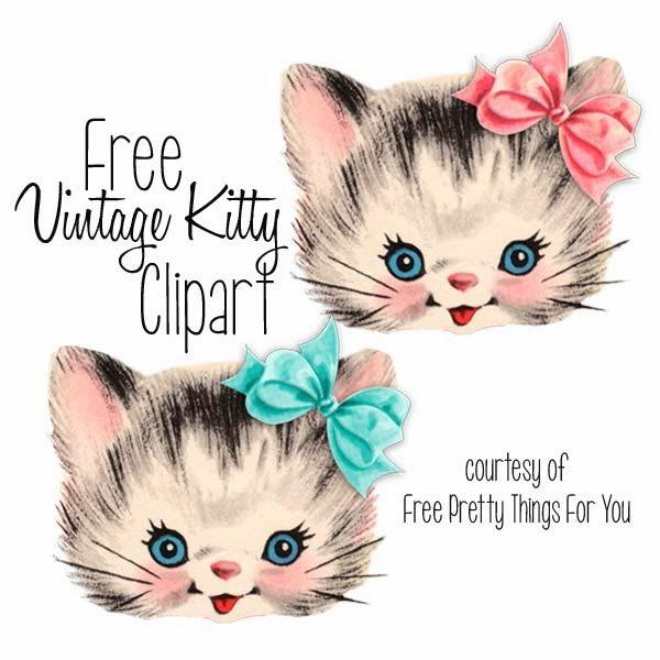 clip art, vintage, cats, kitties, clipart, cat, kitten, kitty, kittens