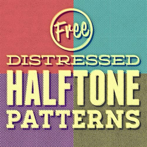 free patterns, halftone patterns, halftone backgrounds