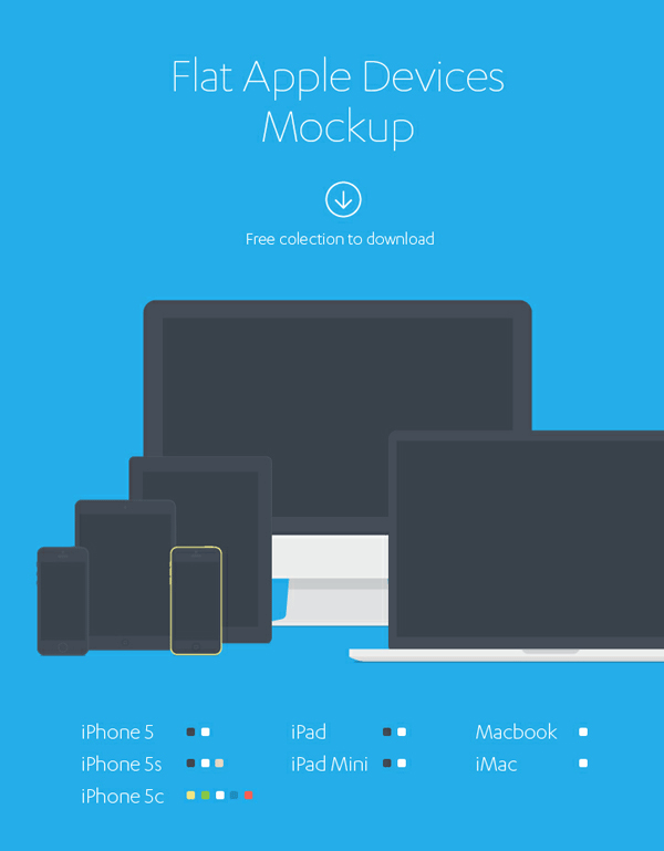 free psd, apple, monitor, iphone, phone, tablet, mockup, freebie, design