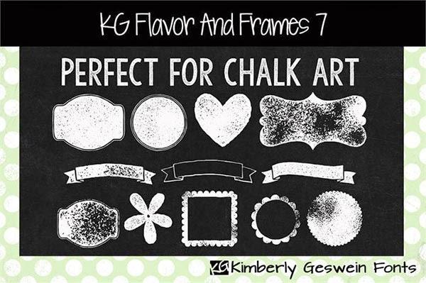 free frames, chalk frames, chalk board frames, chalk ribbons, chalk board ribbons