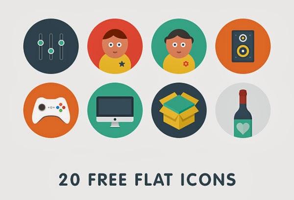 free icons, flat icons, flat design, free flat icons, icon set