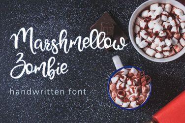 0005_Marshmellow_Zombie_Handwritten_Font