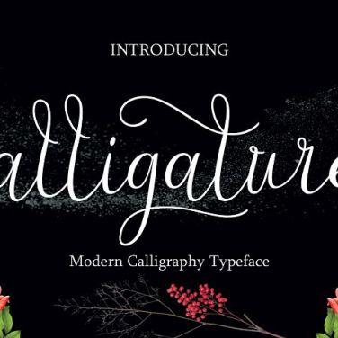 0012_alligature_script_brush_font