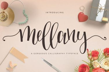 0016_mellany_hand_lettering_font
