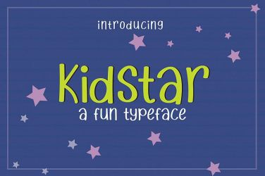 003_Kid_Star_Fun_Typeface