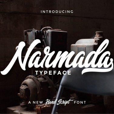 009_Narmada_Hand_Drawn_Script_Font