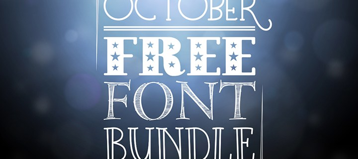 October Free Font Bundle